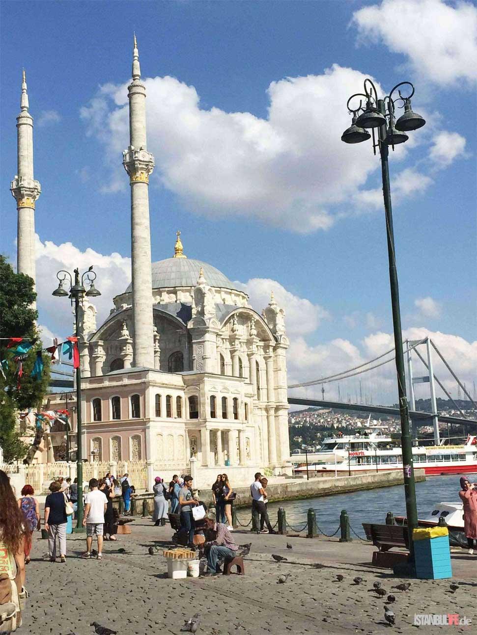 Ortaköy Moschee - Große Medschidiye Moschee