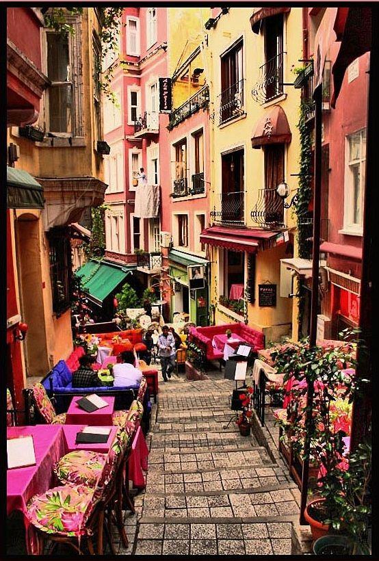 Französische Straße Istanbul