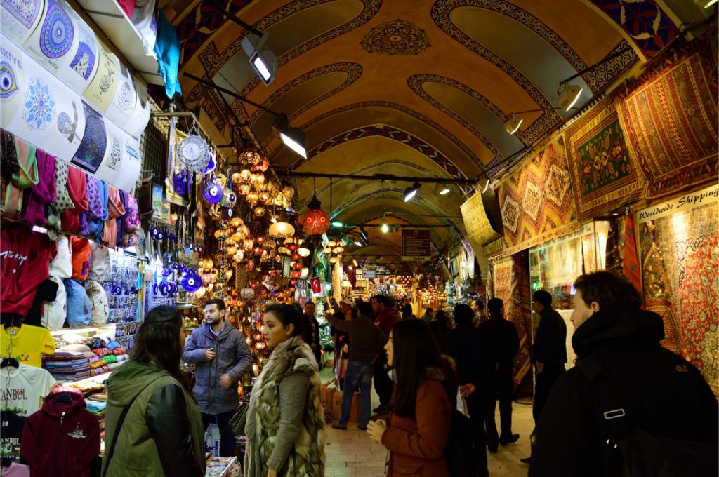 Istanbul Großer Basar - Große überdachter Basar