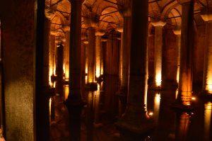 Versunkener Palast - Cisterna Basilica Istanbul