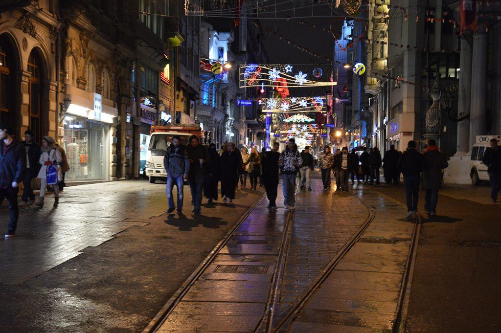 Istiklal Straße Istiklal Caddesi