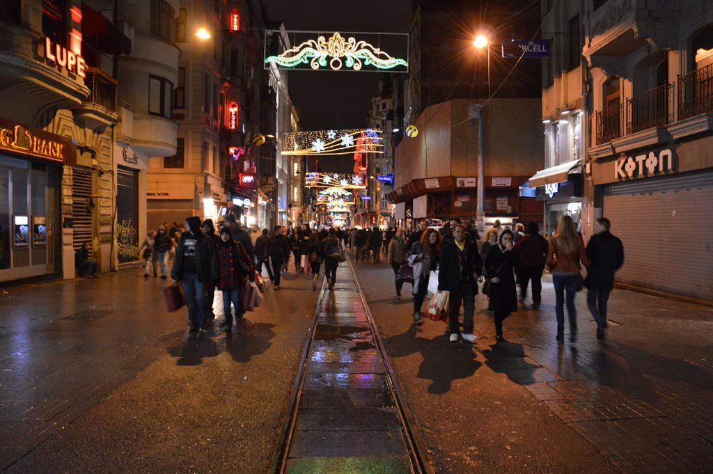 Istanbul-Istiklal-Strasse