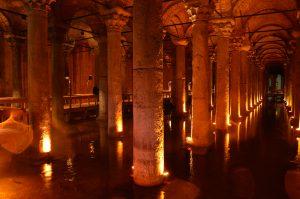 Versunkener Palast - Cisterna Basilica