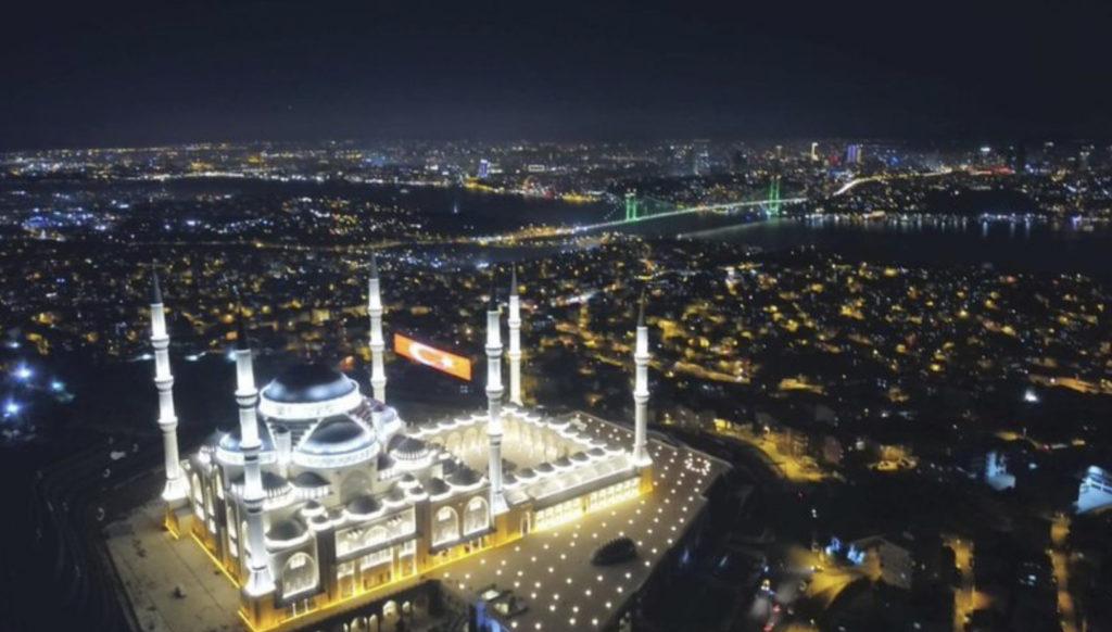 Große Camlica Moschee