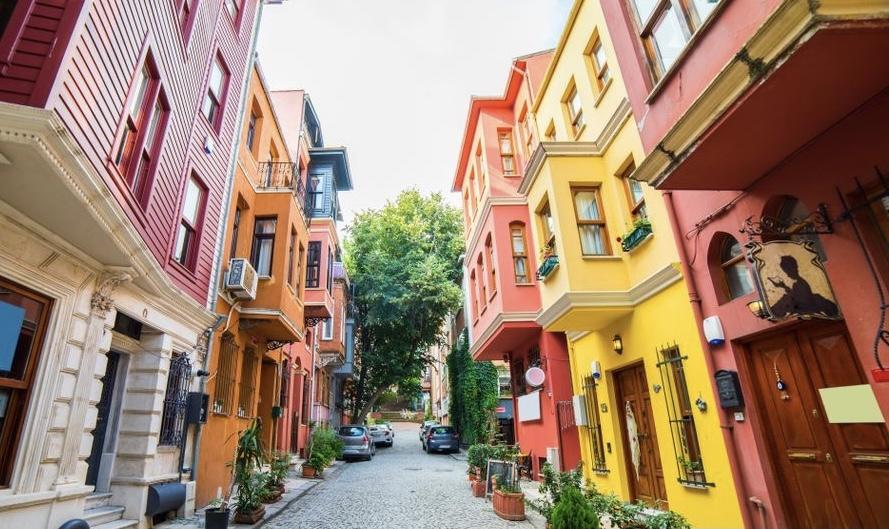 Straßen von Kuzguncuk Istanbul