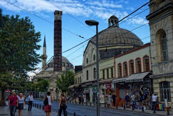 Säule von Çemberlitaş Istanbul
